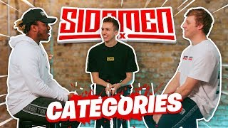 SIDEMEN CATEGORIES