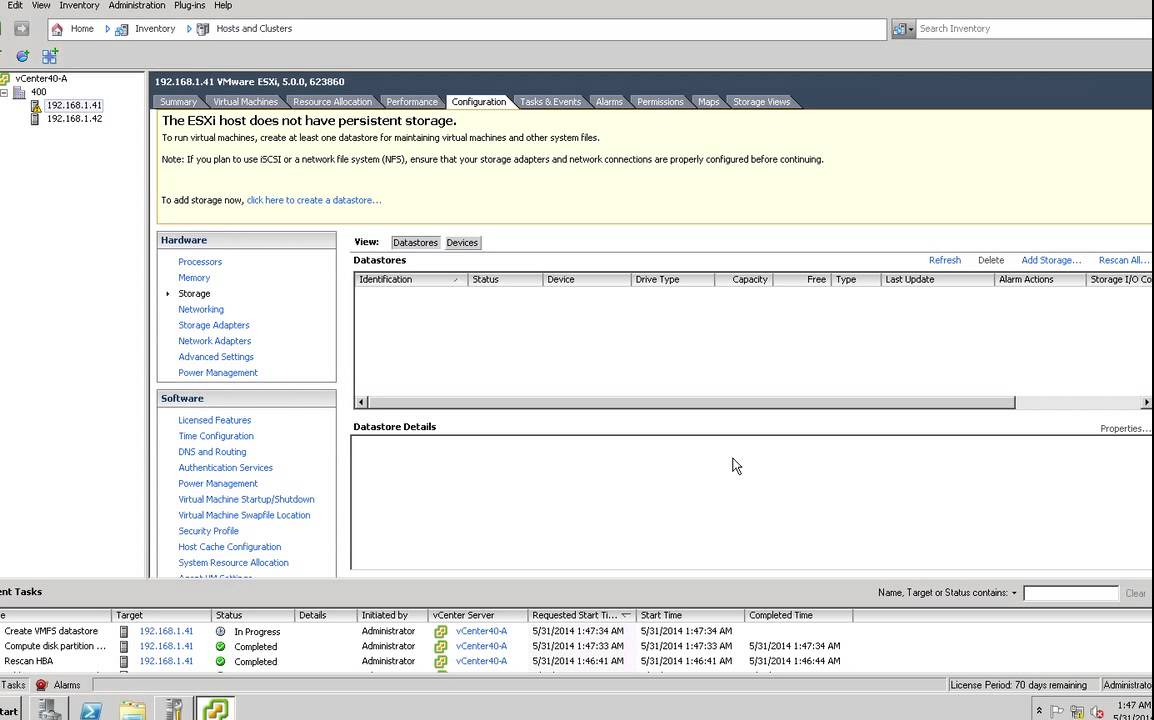 Creating a Netapp iscsi LUN and attaching within vSphere