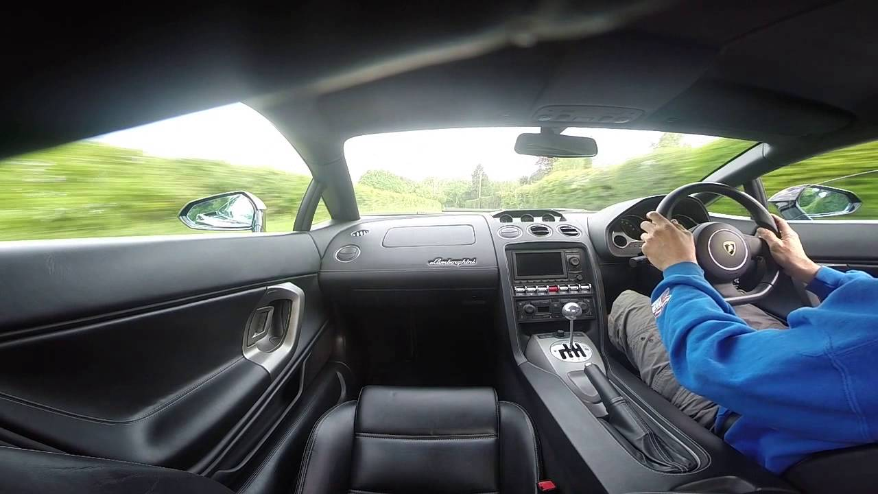 Lamborghini Gallardo V10 Lp550 2 Manual On Board Pov Drive With Loud