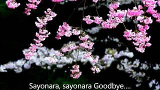 Sayonara Japanese goodbye