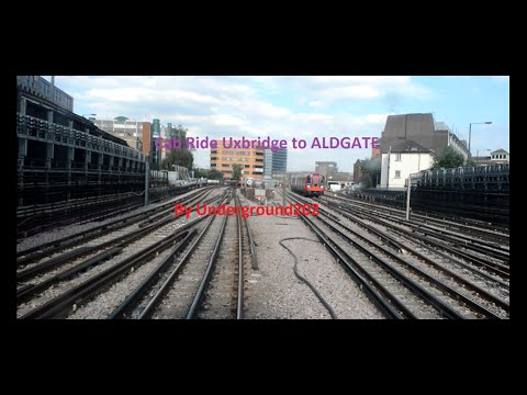 Cab Ride Metropolitan Line Uxbridge to ALDGATE