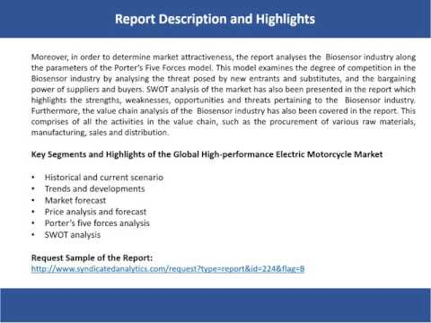 High performance Electric Motorcycle Market Analysis, Market Size, Growth and Forecast, 2017-2022