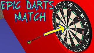 Darts Game - Blender Animation - 3D Animation - Simulation - Dart - Darts Match - Darts 3D [60 fps]