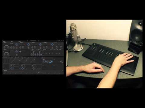 ROLI Seaboard Rise - unboxing and first play on Equator Synth Presets