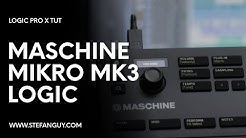 How to use the MASCHINE MIKRO MK3 in Logic Pro X