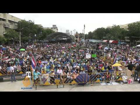 Mass protests in Bangkok against amnesty bill