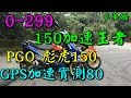 0~299 PGO彪虎150加速王者 GPS實測80