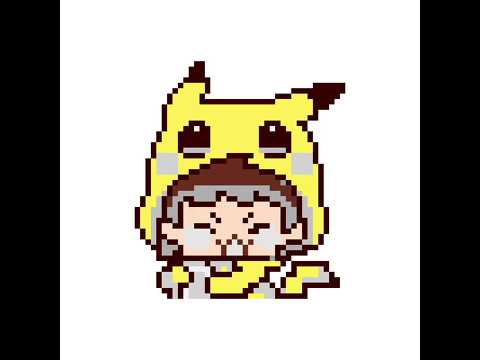 -pixel- Pikachu Girl