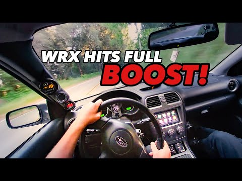 POV DRIVING MY 400HP WRX! FREEWAY PULLS+MOUNTAIN RUNS!