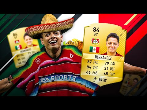 OMG THE FIFA 17 JAVIER CHICHARITO HERNANDEZ BUNDESLIGA UPGRADE SQUAD! FIFA 16 ULTIMATE TEAM