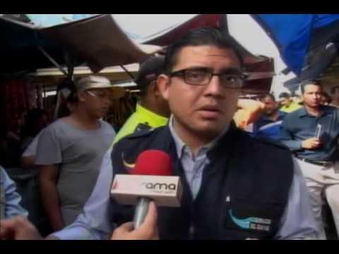 Decomizan balanzas adulteradas en mercado Gómez Rendón
