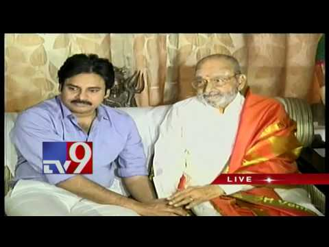 Thumbnail: Pawan Kalyan meets K.Vishwanath, congratulates him on Dadasaheb Phalke Award - TV9