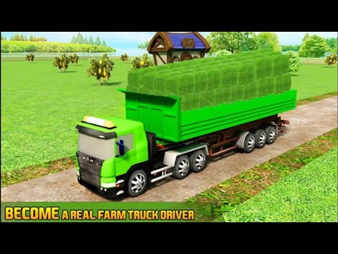 Farm Truck 3D Silage Gameplay