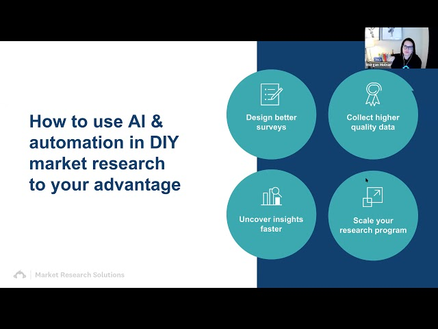 Never miss an insight A behind the scenes look at AI & automation in agile market research Survey mo