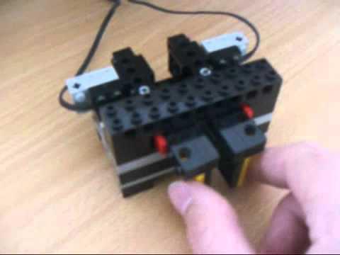 Lego Morse Code Paddle   YouTube