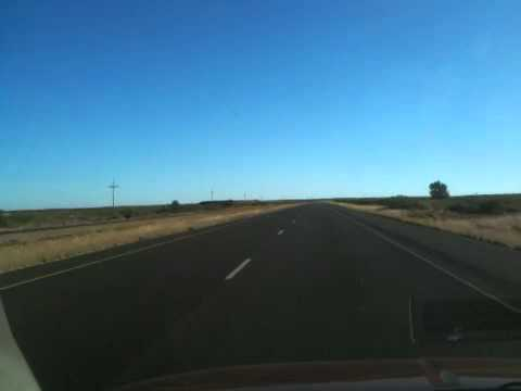 Driving on Highway 70