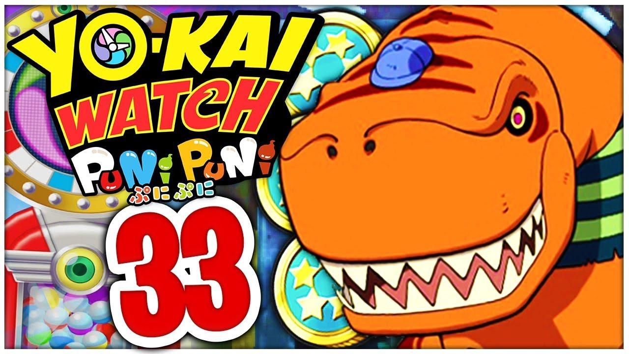 Yo Kai Watch Puni Puni Part 33 3 Fünf Sterne Münzen Ausgeben