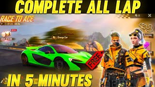 HOW TO COMPLETE LĄP IN FREEFIRE RACE TO ACE EVENT | FREEFIRENEW RACE TO ACE EVENT #FREEFIREEVENT
