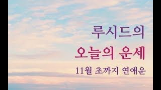 루시드의 오늘의 별자리운세 11월초 연애운 (천칭, 전갈, 황소, 물병, 양자리)