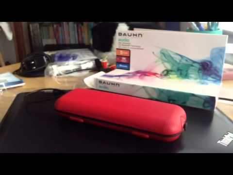 bauhn speaker with bluetooth technology unboxing and mini. Black Bedroom Furniture Sets. Home Design Ideas
