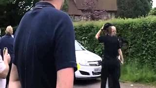 Police act Heroically In Bailiff Eviction showdown