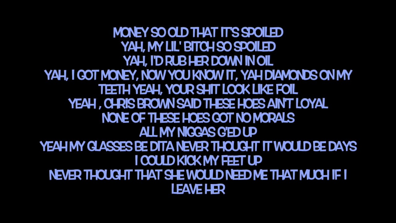Money Longer - Lil Uzi Vert Lyrics - YouTube