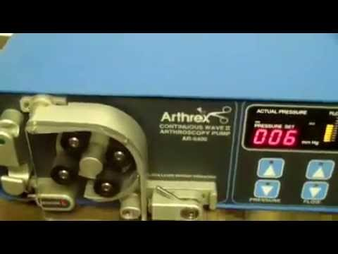 Arthrex AR-6400 Continuous Wave II Arthroscopy Pump