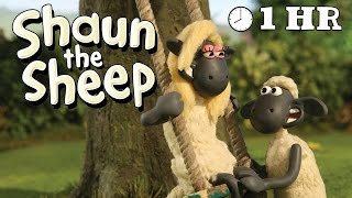 Shaun the Sheep Season 1 | Episodes 31-40 [1 HOUR]