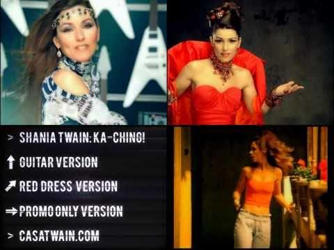 Shania Twain - Ka-Ching! 3 Versions [HD 1080p]