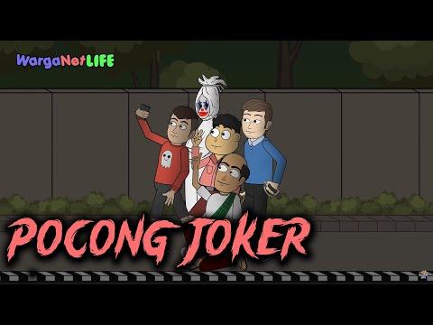 Pocong Joker Curhat - Ft. Rizky Riplay & Andy Riplay - Animasi Horor Kartun Lucu - Warganet Life