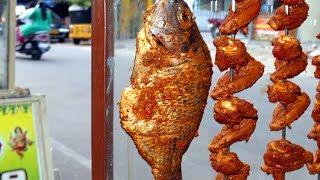 #INDIAN FISH RECIPE: FULL FISH TANDOORI MAKING IN INDIAN RESTAURANT