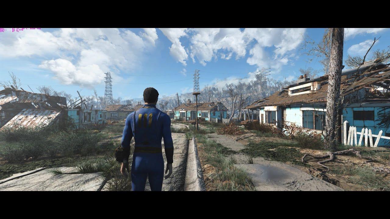 Fallout 4 - Modded - GTX 1080 - Max Settings - 3440x1440 - Acer Predator X34