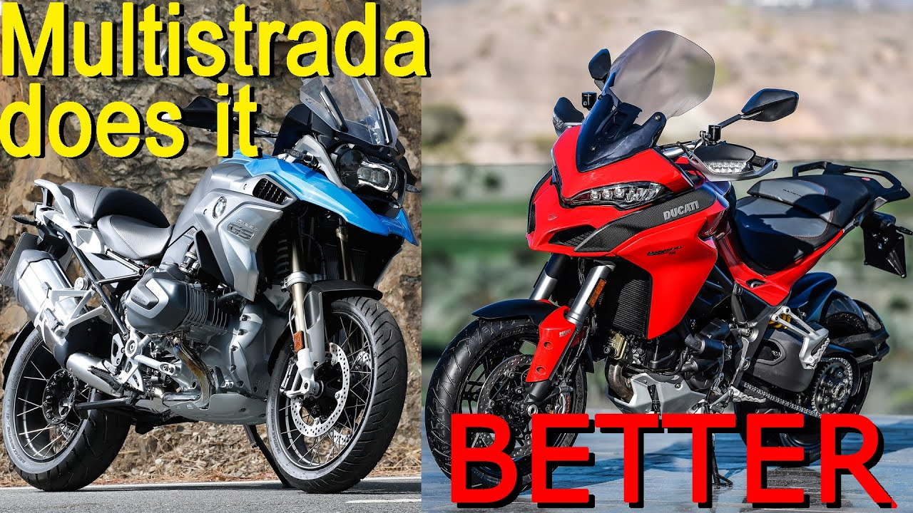 5 things that Ducati Multistrada 1260 does better than BMW R 1250 GS