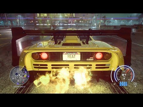 NFS Heat: Black Market McLaren F1 400+ All Missions & Contracts [Hard Difficulty]