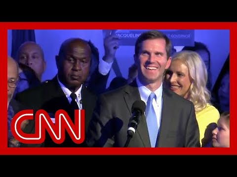 Democrat declares victory in Kentucky governor race Kentucky's Democratic Attorney General Andy Beshear claims victory in gubernatorial race over incumbent Matt Bevin, a Republican backed by Trump. #CNN ..., From YouTubeVideos
