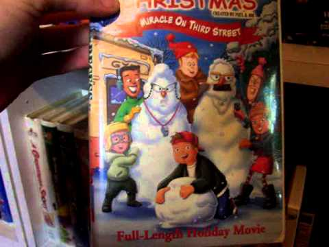 My DVDVHS Collection Part 9.1 Christmas Movie Collection