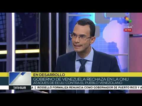 Jorge Arreaza respone a Trump ante amenaza con bloqueo naval a Venezuela