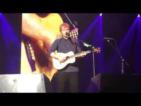 Ed Sheeran - Runaway, Capital FM Arena (Nottingham) 22/10/2014