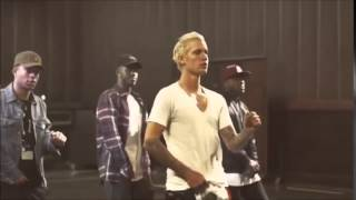 justin bieber dancing to best friend by young thug in los angeles february 11 2016