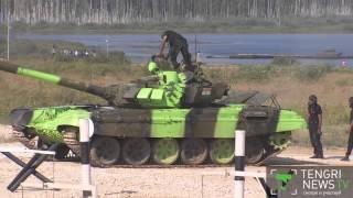 Казахстан вышел в финал по танковому биатлону
