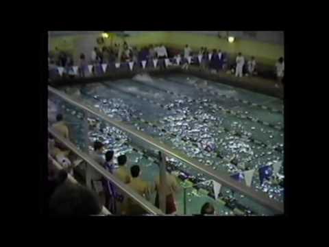 1992 Sagamore Conference boys 100 Freestyle Lebanon Tigersharks Western Boone