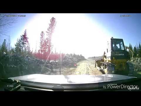 Дорога Мортка - Куминский  = февраль 2018