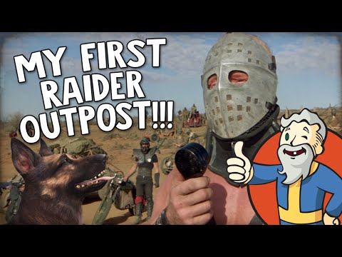 "Fallout 4 Nuka World DLC ""MY FIRST RAIDER OUTPOST!!!"""