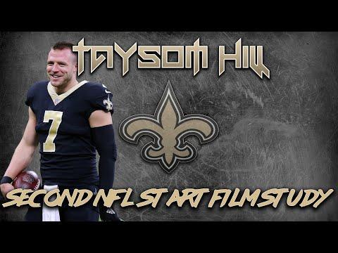 Taysom Hill's Second Start - Saints Full Film Study