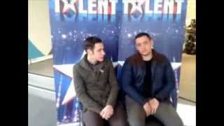 Britain's Got Talent 2013: Finalists Richard and Adam Johnson talk to Unreality TV