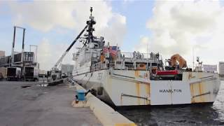 Coast Guard Offloads More than 12,500 Pounds of Cocaine