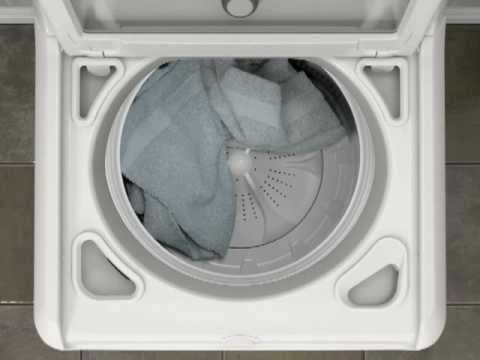 Www Whirlpool Com >> How Your Washer Fixes Unbalanced Loads - YouTube