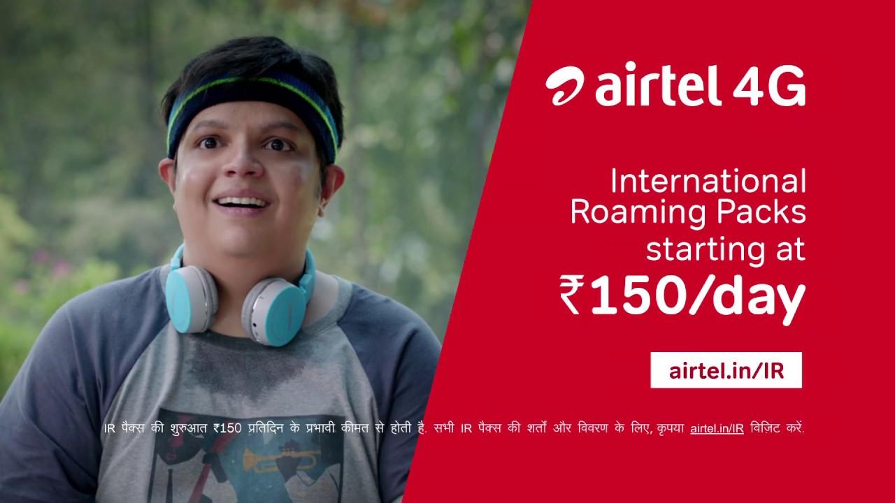 airtel international roaming