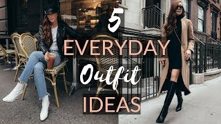 5 EVERYDAY OUTFIT IDEAS | Easy & Affordable To Recreate