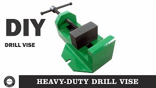 Make A Metal Drill Press Vise | Homemade Metal Vise | Diy Tools | Diamleon Diy Builds